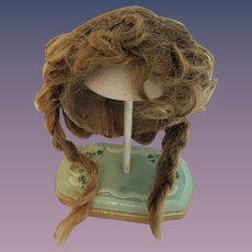 Lovely Old Human Hair Doll Wig