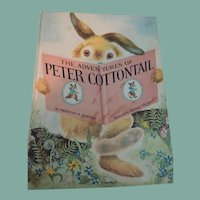 """""""The Adventures of Peter Cottontail"""" by Thornton W. Burgess"""
