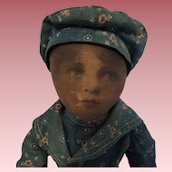 Charming Babyland Rag Doll Boy In Original Clothing