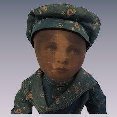 Charming Babyland Rag Doll Boy In Original Clothing