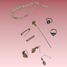 Vintage Accessory Lot for German and French Dolls