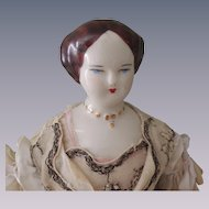 Fancy Larger Sized Ruth Gibbs Lady Doll