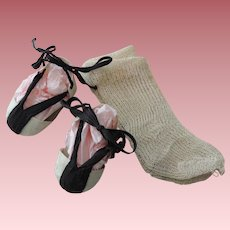 Unique Cloth and Rope Sandals for Kathe Kruse -Type Dolls