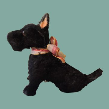 German Scotty Terrier Companion for Your French and German Dolls