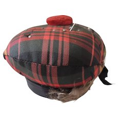 Scottish Tartan Fabric Pin Cushion