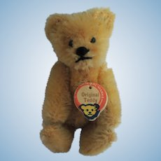 "Darling Miniature Steiff ""Original Teddy"" with Chest Tag"
