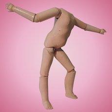 Nice German Sonneberg Composition Doll Body