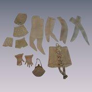 Vintage 1950-1960 Fashion-Type Dolls Undies and Accessories