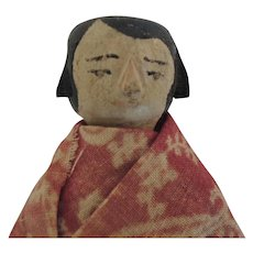 Hitty-Type Primitive Wooden Doll * So Cute!