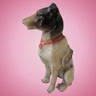 Miniature Metal Dog Advertising Zion National Bank