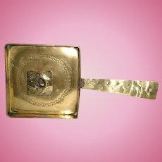 19th Century Long-Handled English Brass Chamberstick