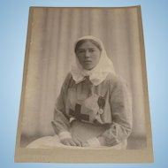 Pre-Revolution Original Photograph of Grand Duchess Olga Alexendrovna Dated 1916