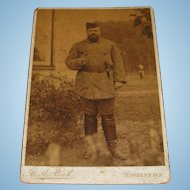 19th Century Original Photograph of Tsar Alexander III by C.A. Bech of Frederiksberg