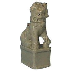 18th Century Chinese Porcelain Blanc-de-Chine Foo Dog Incense Burner