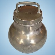 19th Century French Pewter Milk Container