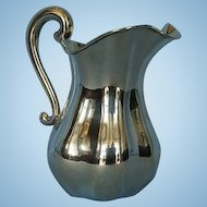 19th Century Austro Hungarian 800 Fine Silver Pitcher