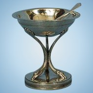 Early 19th Century Austro Hungarian 812 Fine Silver Salt Cellar