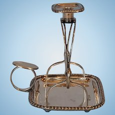 Antique English Sterling Silver Waxjack by George Howson