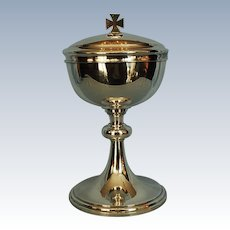 Early 20th Century French Silverplate Ciborium
