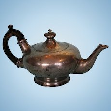 Mid-19th Century Britannia Metal Bachelor Tea Pot by Atkin Brothers
