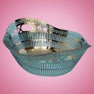 Vintage Dutch .835 Silver Basket