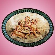 Rare 19th Century Wedgewood Cream Ware Platter