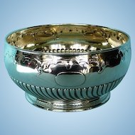 Antique German .800 Silver Bowl by Koch & Bergfeld