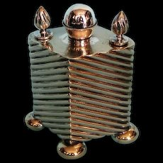 19th Century English Silver Plate Table Cigar Lighter by Hukin & Heath