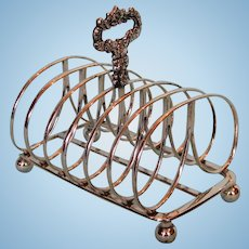 Early 19th Century Old Sheffield Plate Toast Rack