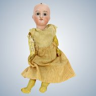 "Antique ARMAND MARSEILLE German Doll W & Co 120 AM Bisque Head 10""  Needs Tlc"