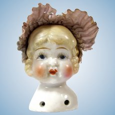 Vintage Japan China Doll Shoulder Head