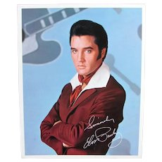 Vintage ELVIS PRESLEY Promo Photo 1968 Singer Comeback Special Original