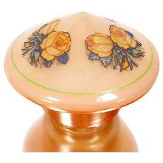 Vintage Art Deco Luster Glass Lamp Shade Mushroom Shape