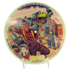 Vintage Vogue Picture Disc I've Been Working on the Railroad I Don't Know Why Record