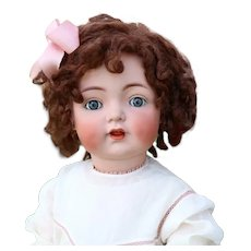 Large 28 Inch Antique Kammer Reinhardt 121 toddler k German Bisque Character Doll