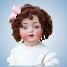 Large 28 Inch Antique Kammer Reinhardt 121 toddler k German Bisque Character Doll