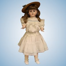 29 Inch Antique Heinrich Handwerck 79 DEP German Bisque Doll Cute Outfit Shoes