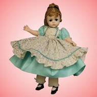 11.5 inch Madame Alexander Lissy face Amy Little Women Orig clothes and hair set