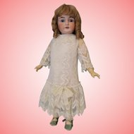 Early c.1890 Antique 27 inch Kestner 164 German Bisque Child Doll Nice Body.