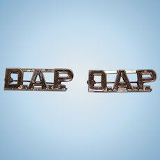 "D.A.P. Two Horizontal collar bars 1-1/2"" long 1/2"" tall"
