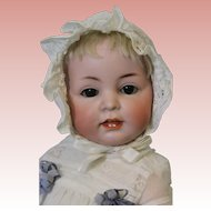 15.5 inch Antique German Bisque K*R Kammer & Reinhardt 116A Character Baby Doll 1909