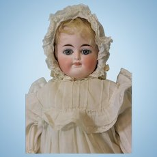 Antique 14 inch German Bisque Two-Faced Doll by Fritz Bartenstein c.1892 Mama Crier