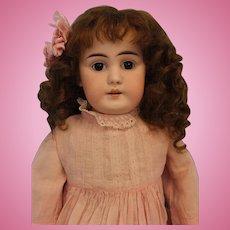 Antique 22 inch German Bisque Doll Shoulder-head Kestner Marked 8 Made in Germany