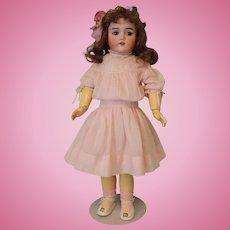 23 inch Simon Halbig German doll Heinrich Handwerck Orig. antique Clothes Auburn Wig