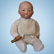 17 inch Arranbee Bottletot German Bisque doll Celluloid hands & Bottle circa 1926 !!