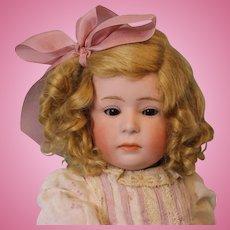 15.5 inch Gebruder Heubach 6969 Pouty Character Doll c.1912 German Bisque Sleep Eyes
