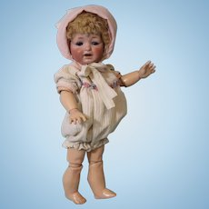 11.5 inch Antique JDK Kestner 211 Character Toddler Doll Original Skin Wig CUTE!!