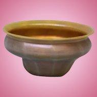 2.75 inch American Tiffany Studios Favrile Iridescent Art Glass Bowl  Antique c.1900