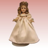 14 Inch Composition Fairy Princess Doll Madame Alexander c.1937 Tagged Outfit