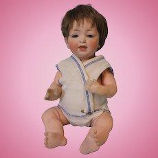 13 inch Antique Kestner 211 baby doll Blue sleep eyes Orig body Plaster pate